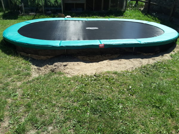 trampoline Bergtrampoline
