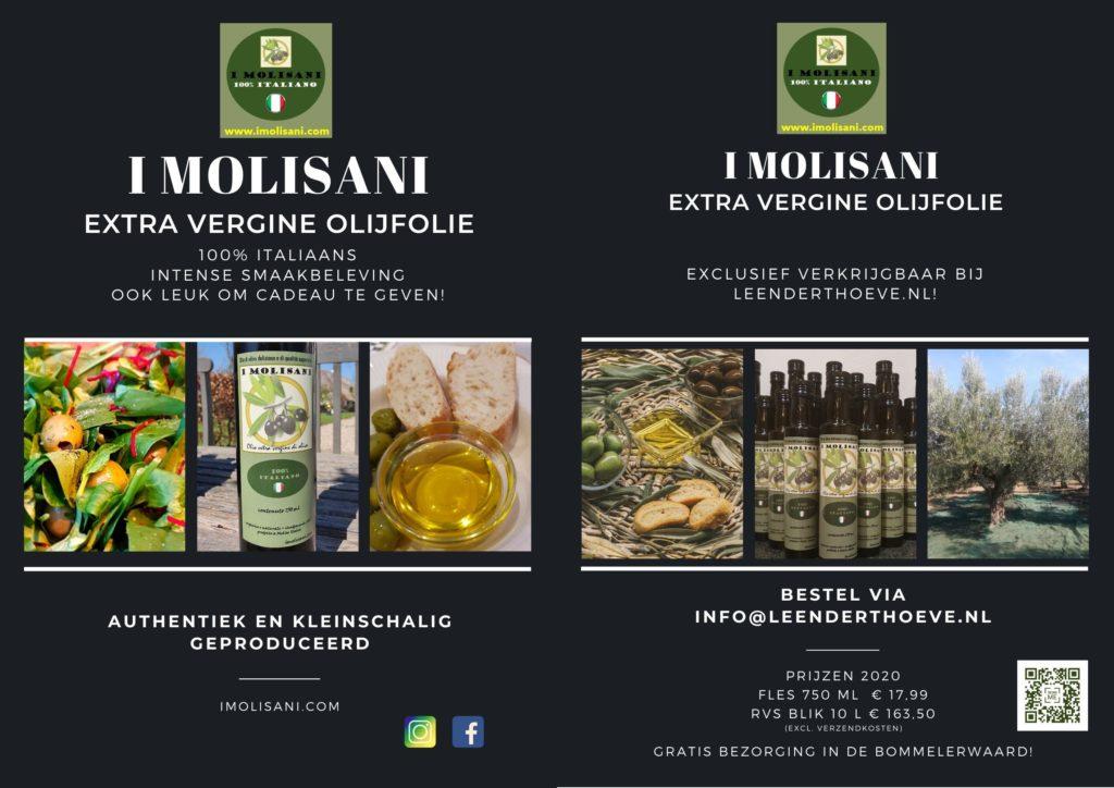 Brochure I Molisani Olijfolie